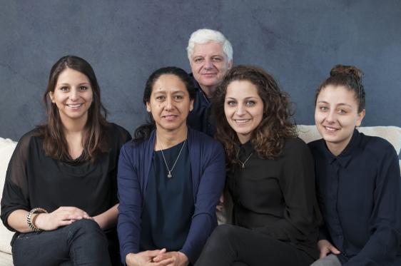 familie portret - Wageningen