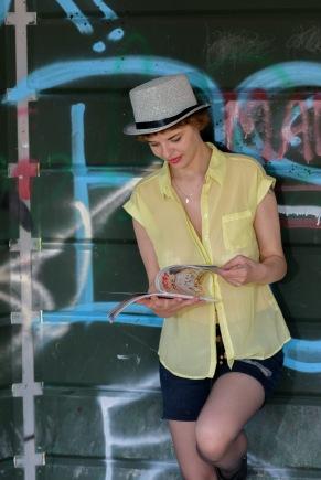 Model: Amy Adler