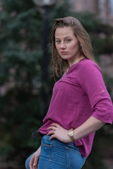 Model: Joanie den Oudsten Make-up by Georgiana Alexy