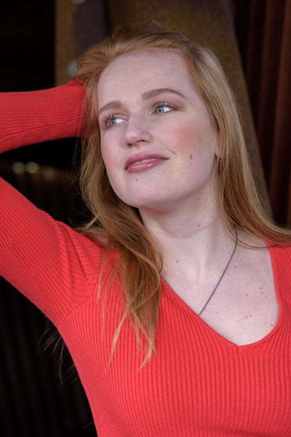 Model: Manon Werkman | Make-up by Georgiana Tansaz