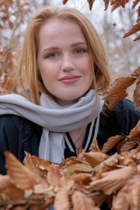 Model: Manon Werkman   Make-up by Georgiana Tansaz